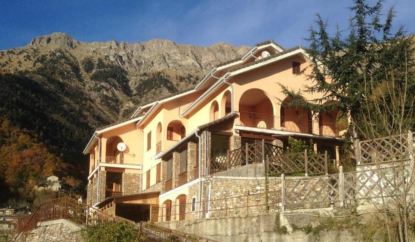 albergo villa Triora Imperia alta via monti liguri