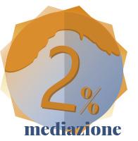 PAGA SOLO IL 2% DI COMMISSIONE